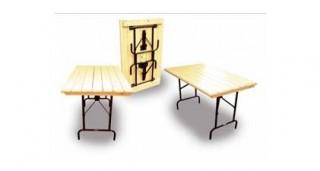 Стол складной Пьедестал (рейка)