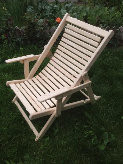Шезлонг – кресло складное
