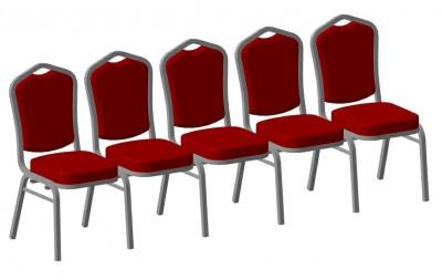 Секции стульев банкетных