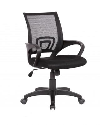 Кресло офисное TopChairs Simple черное