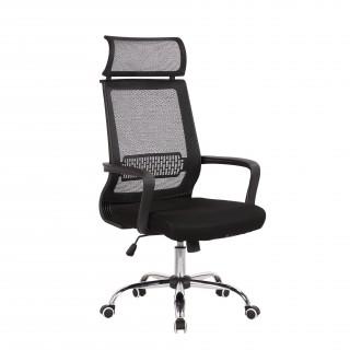Кресло офисное TopChairs Style серое