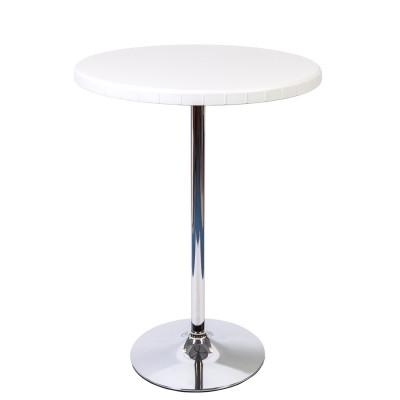 Стол барный ROUND белый