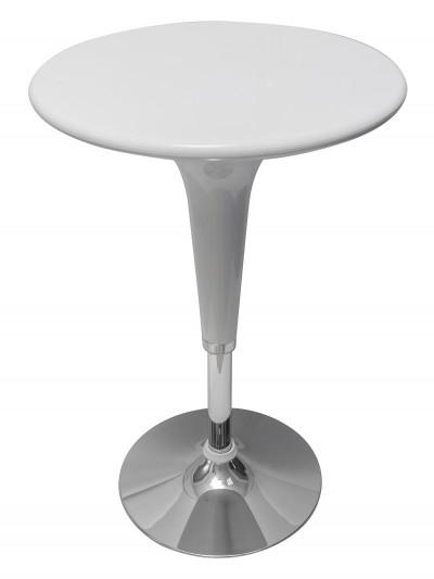 Стол барный белый МАЛИБУ